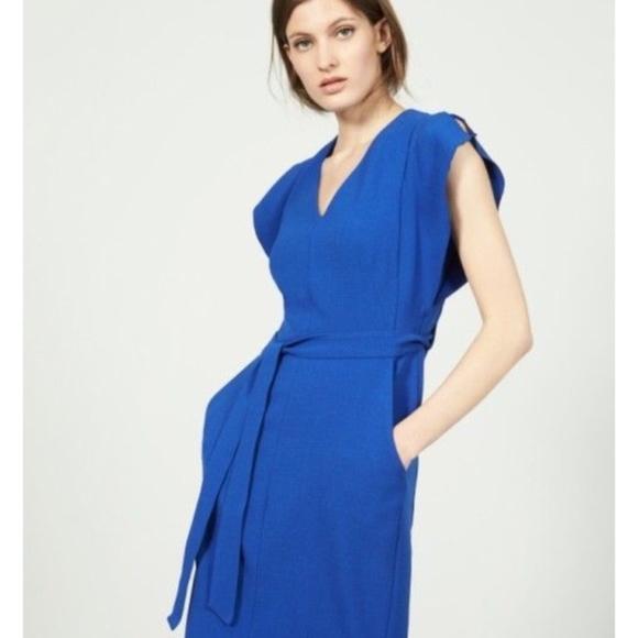 0c6d7a80c38 Eliza J Dresses   Skirts - Eliza J Ruffle Sleeve Sheath Dress Cobalt Blue 2